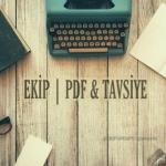 EKİP Pdf & Tavsiye