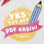 YKS 2020 PDF ve Öneri